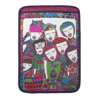 family in photo on iPad and laptop sleeve! MacBook Air Sleeve