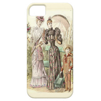 Family in the garden iPhone SE/5/5s case