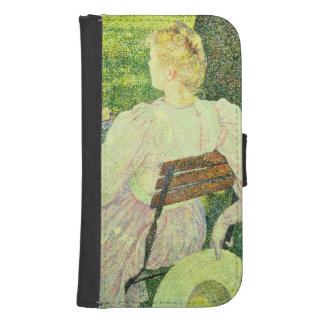 Family in the Orchard, 1890 Phone Wallet