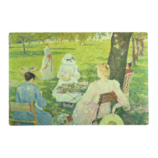 Family in the Orchard, 1890 Placemat