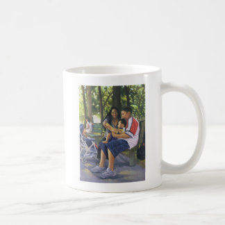 Family in the Park 1999 Coffee Mug
