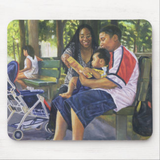 Family in the Park 1999 Mouse Pad