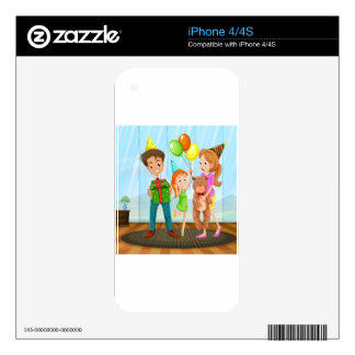 Family iPhone 4 Decal