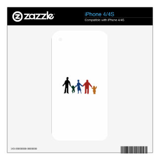 Family iPhone 4S Decals