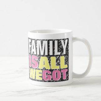 Family is all we got Mug