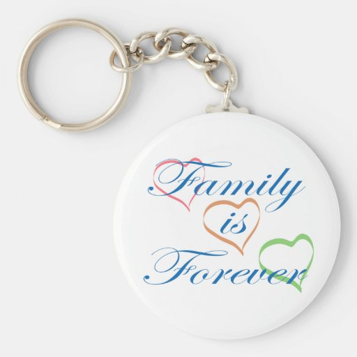 Family is Forever Key Chain