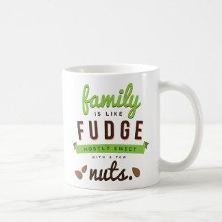 Family Is Like Fudge Funny Quote Coffee Mug
