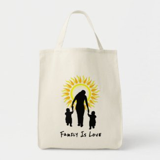Family Is Love Sun bag