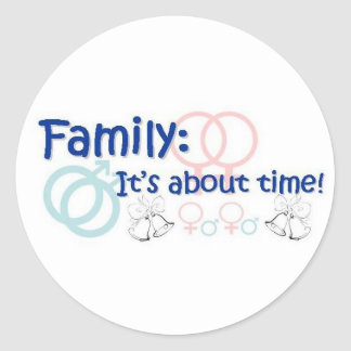 Family-It's About Time sticker
