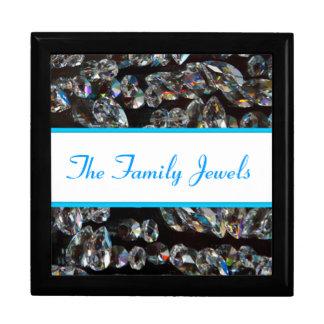 Family Jewels Crystal Clear Diamonds Keepsake Box