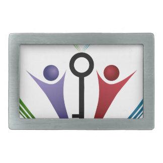 Family Key Icon Belt Buckle