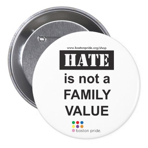 Family Large 3 Inch Round Button