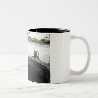 Family Life Two-Tone Coffee Mug