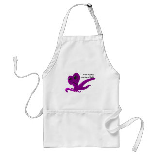 Family Like Octopus We Can't Escape From It Adult Apron