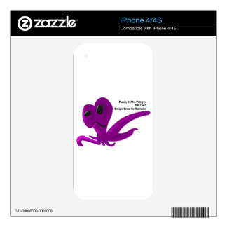 Family Like Octopus We Can't Escape From It iPhone 4S Skin