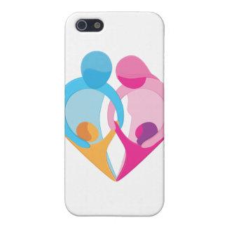 Family Love Heart Symbol iPhone SE/5/5s Case