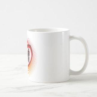 family  love in illustration coffee mug