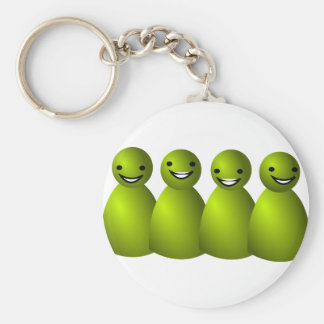 family  love in illustration keychain