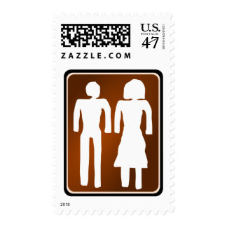 family  love in illustration postage