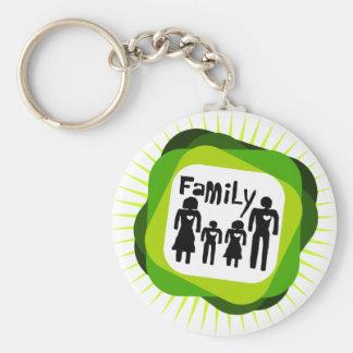 family  love keychain