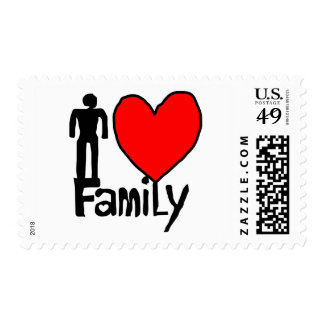 family  love stamp