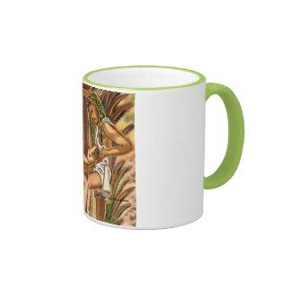 Family love symbol mug