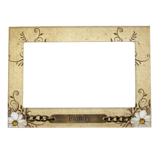 Family Magnetic Photo Frame