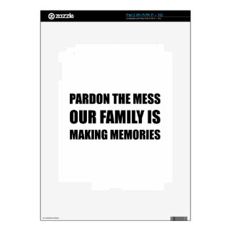 Family Making Memories Decal For iPad 2