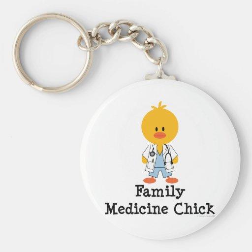 Family Medicine Chick Keychain