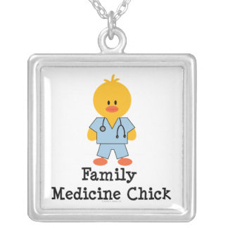 Family Medicine Chick Necklace