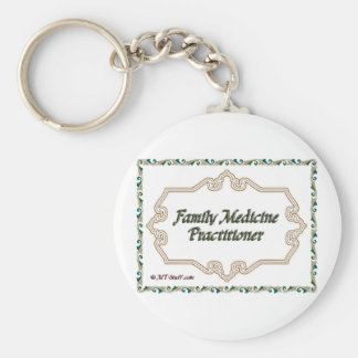 Family Medicine Practitioner Keychain