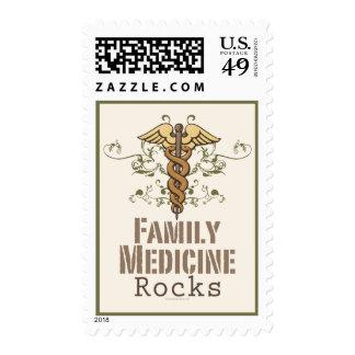Family Medicine Rocks Postage Stamp