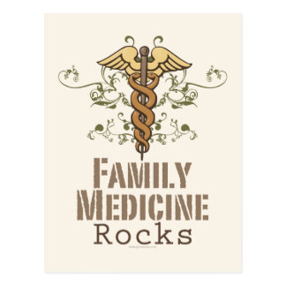 Family Medicine Rocks Postcard