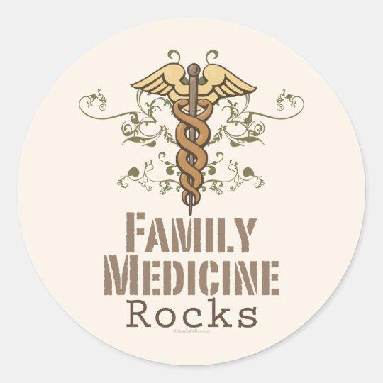 Family Medicine Rocks Stickers