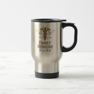 Family Medicine Rocks Travel Mug