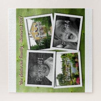 Family Memories 4 x Custom Photos Challenge Cactus