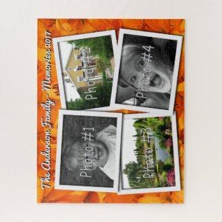 Family Memories 4 x Custom Photos Challenge Lilies