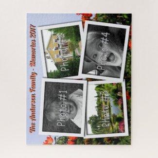 Family Memories 4 x Custom Photos Challenge Tulip