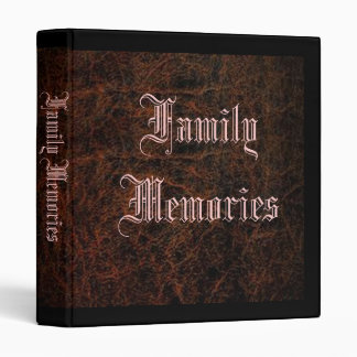 Family Memories Binder