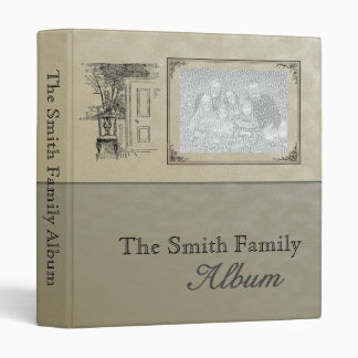 Family Memories, Genealogy, Travel Scrapbook Album Binder
