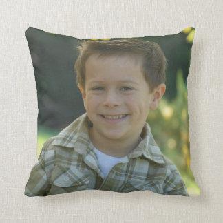 Family Memories Keepsake Throw Pillow