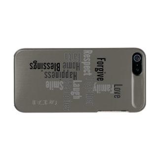 Family Metallic Phone Case For iPhone SE/5/5s