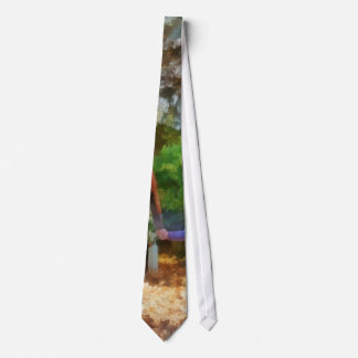 Family - Mother and Daughter Taking a Stroll Neck Tie