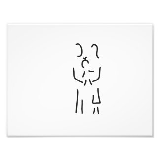 family mother father baby regenerated photo print
