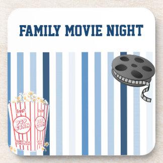 Family Movie Night Coaster