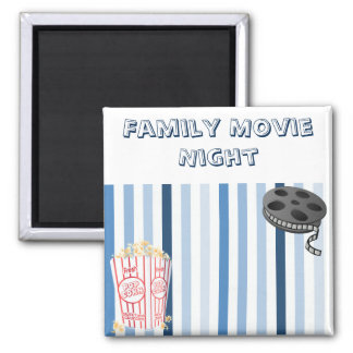 Family Movie Night Magnet