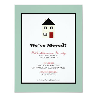 """Family Moving Announcement (4.25x5.5"""") :: sky"""