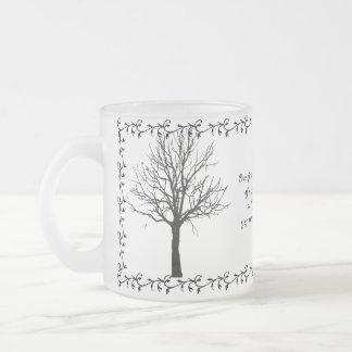 FAMILY-MUG FROSTED GLASS COFFEE MUG