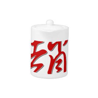 Family name 趙 teapot