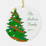Family Name 2010 Ornament